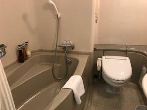新横浜プリンスホテルのバスルーム